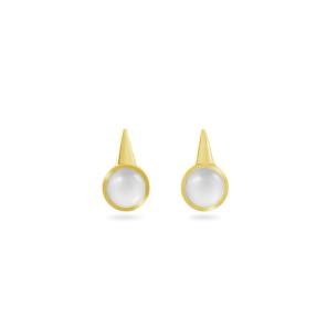 Earring,Sterling Silver ,Moonstone
