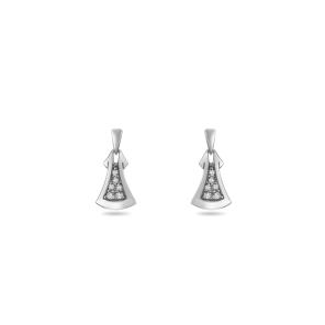 Earring,Sterling Silver