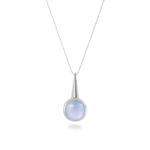 Pendant,Sterling Silver,Chalcedony