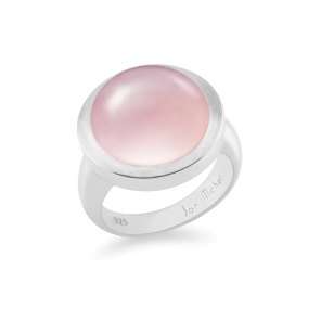 Ring,Sterling Silver,Pink Chalcedony