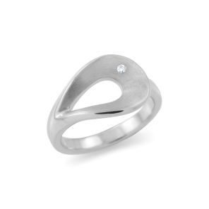 Ring,Sterling Silver ,Diamond
