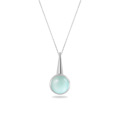 Pendant,Sterling Silver ,Chalcedony