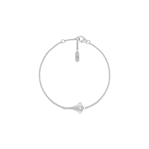 Bracelet,Sterling Silver,White Zircon